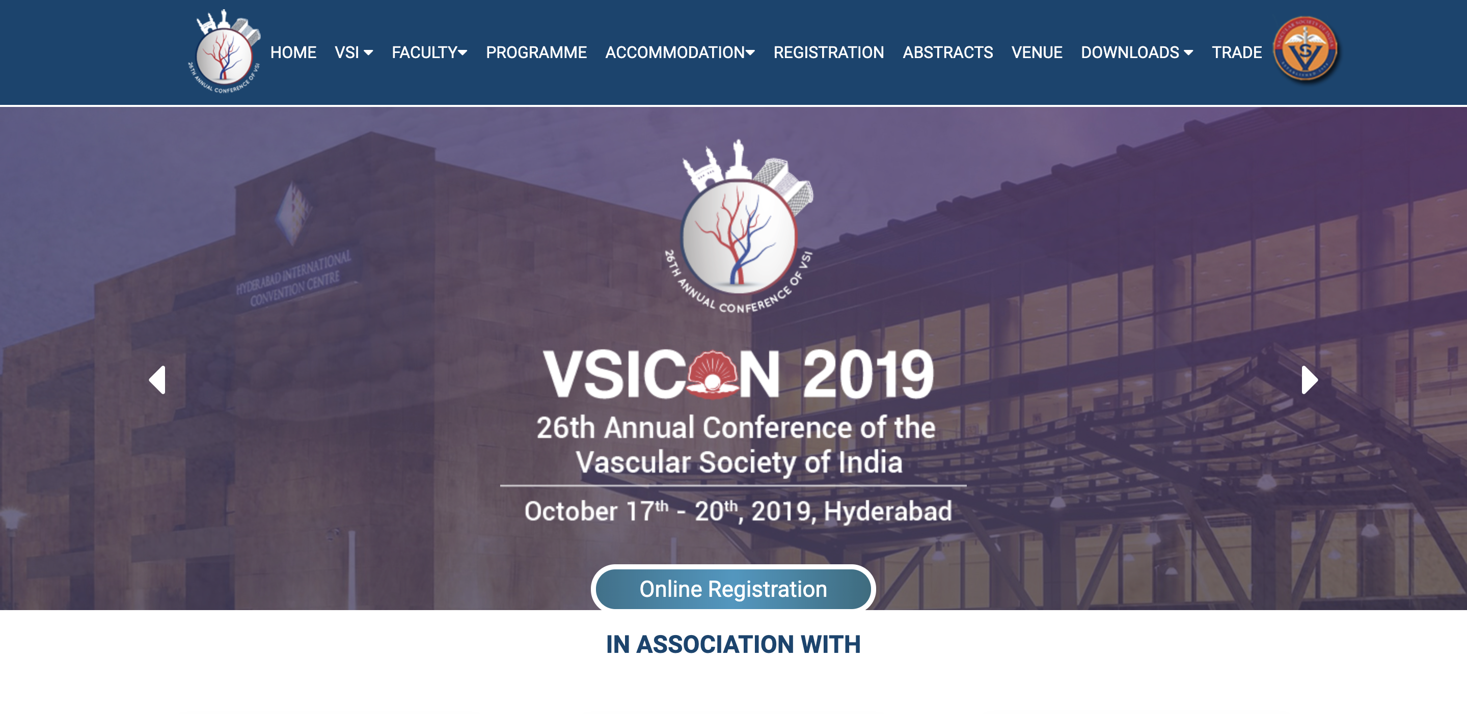 VSICON – 26th Annual Conference of the Vascular Society of India