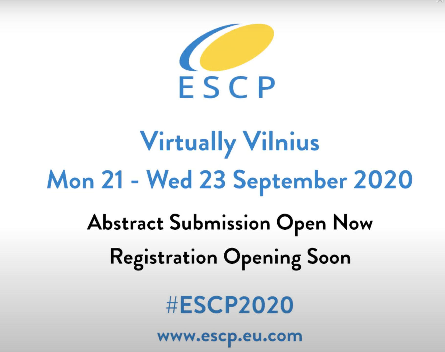 ESCP (European Society of Coloproctology)