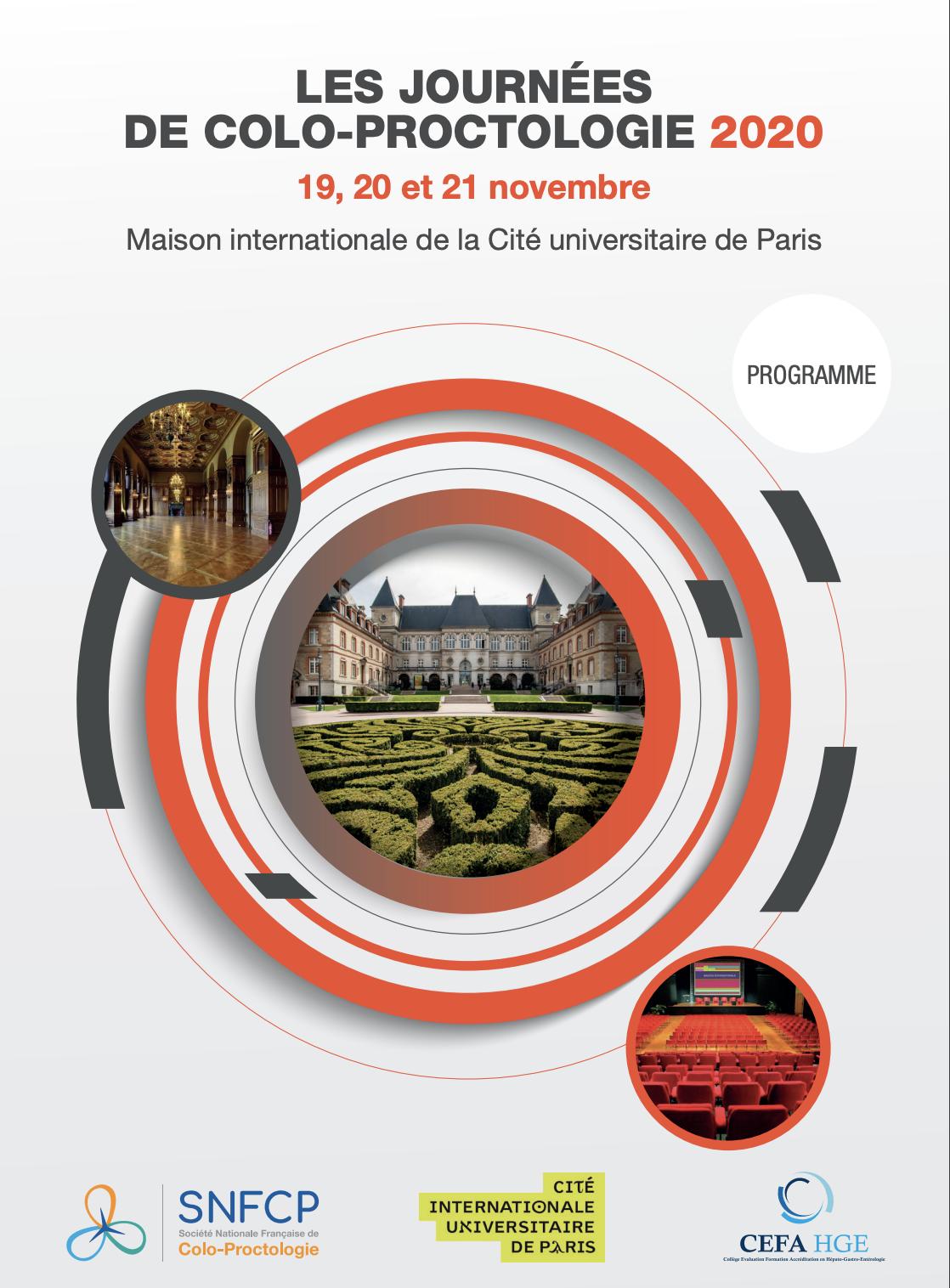 SNFCP – Journées de Colo-Proctologie (Société Nationale Française de ColoProctologie)