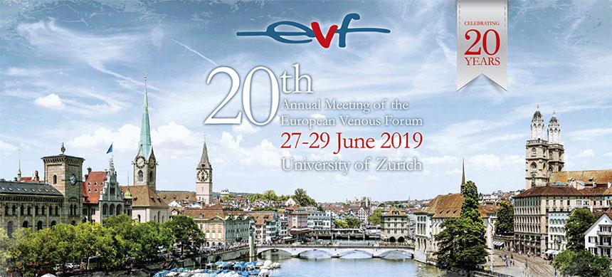 EVF – European Venous Forum Congress – 20th congress