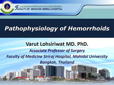 Pathophysiology of Hemorrhoids