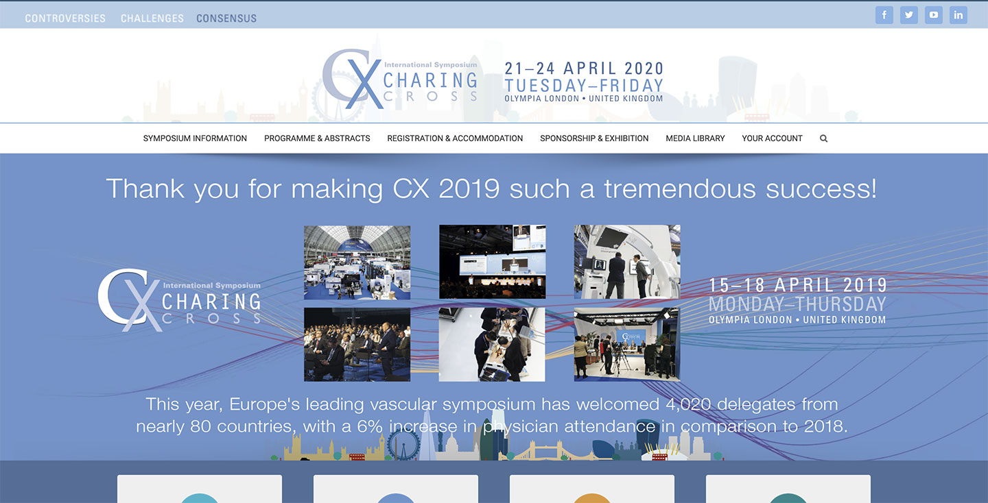 CX – Charing Cross symposium
