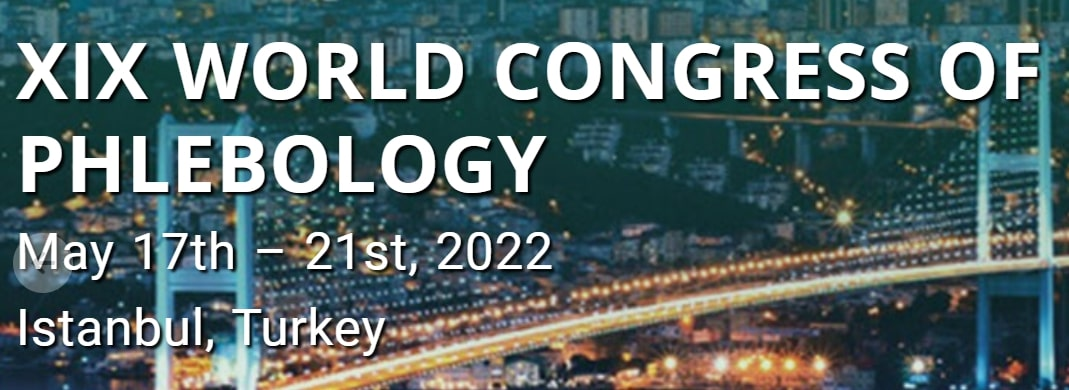 May 17-21, 2022 UIP WORLD CONGRESS OF PHLEBOLOGY