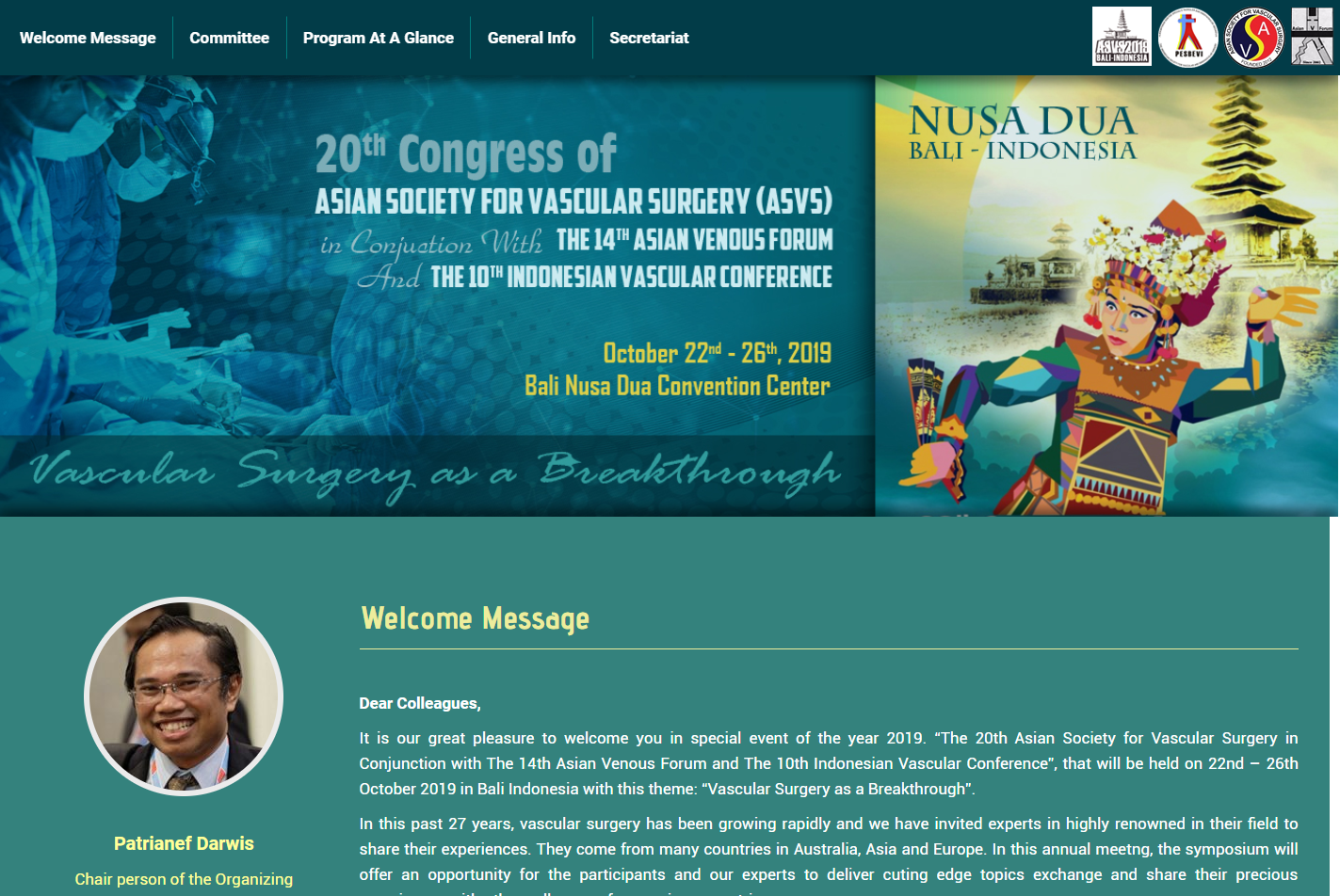 ASVS – 20th Congress of Asian Society for Vascular Surgery