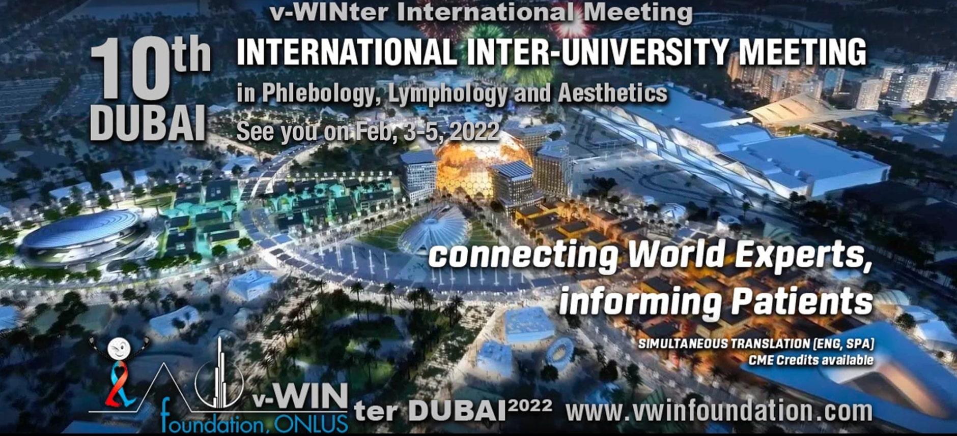 February 3-5, 2022 v-WINter INTERNATIONAL MEETING
