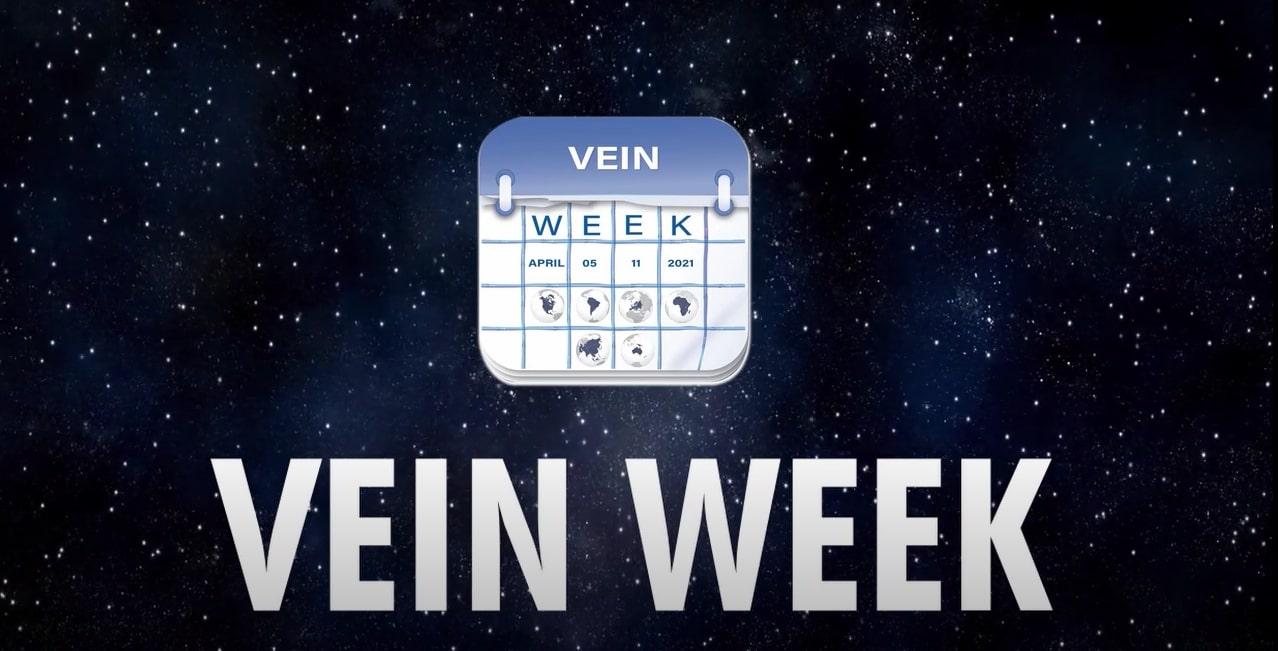 April 5-11, 2021 v-WIN FOUNDATION VEIN WEEK